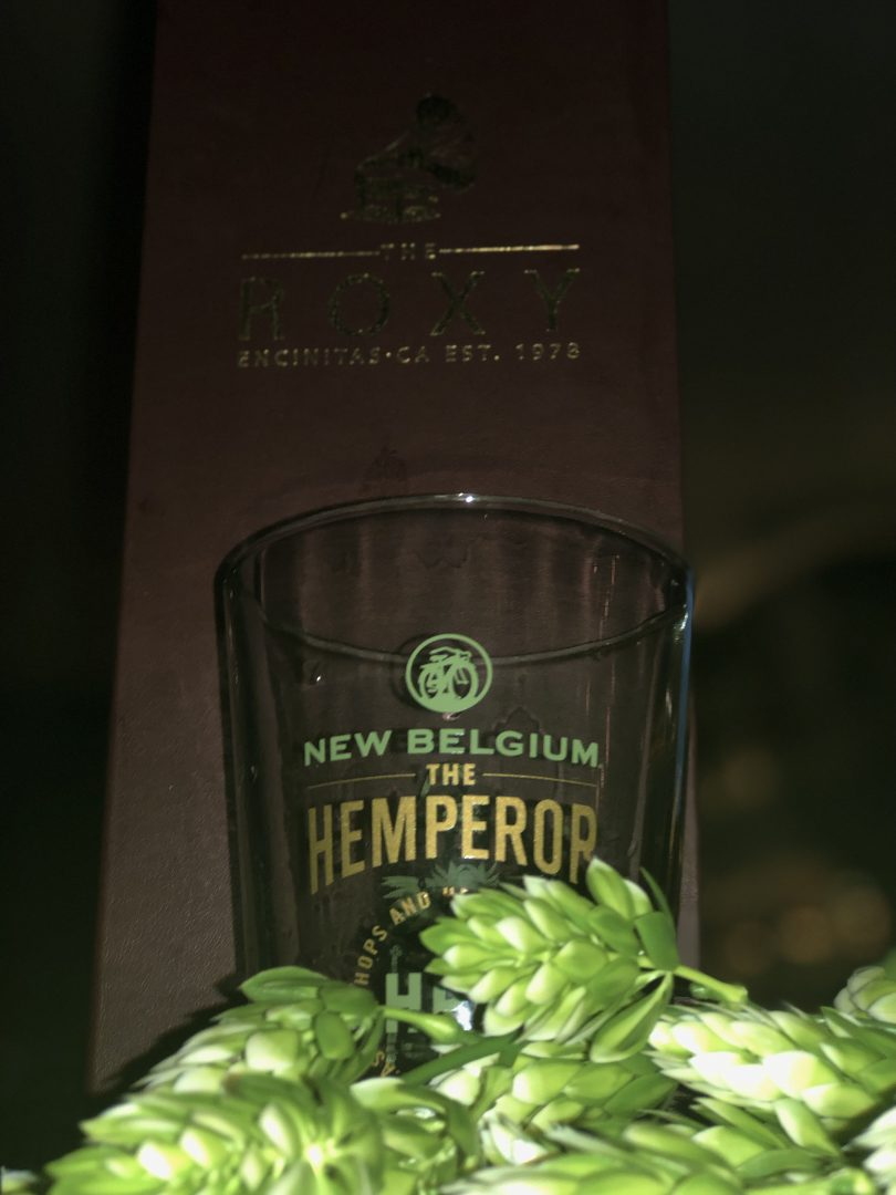 Encinitas New Belgium Hemperor Beer Launch
